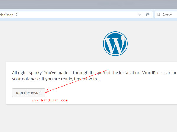 10 instalasi wordpress di localhost