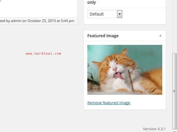 122 set featured image wordpress
