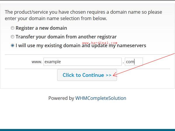 16 memesan domain hosting cpanel