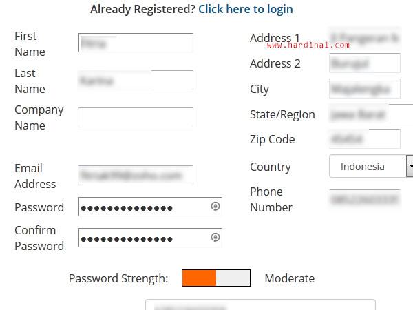 20 memesan domain hosting cpanel