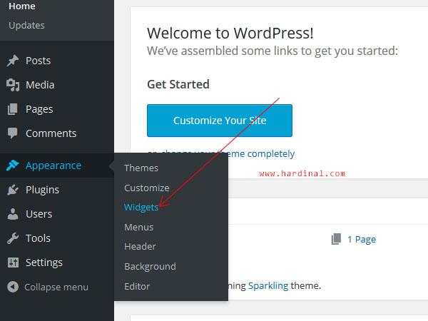90 ganti widget wordpress